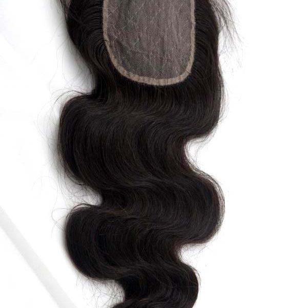 Closure Peruvian Body Wave 16 Real Hair Fashion