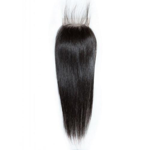 Closure Brazilian Straight 16 Real Hair Fashion