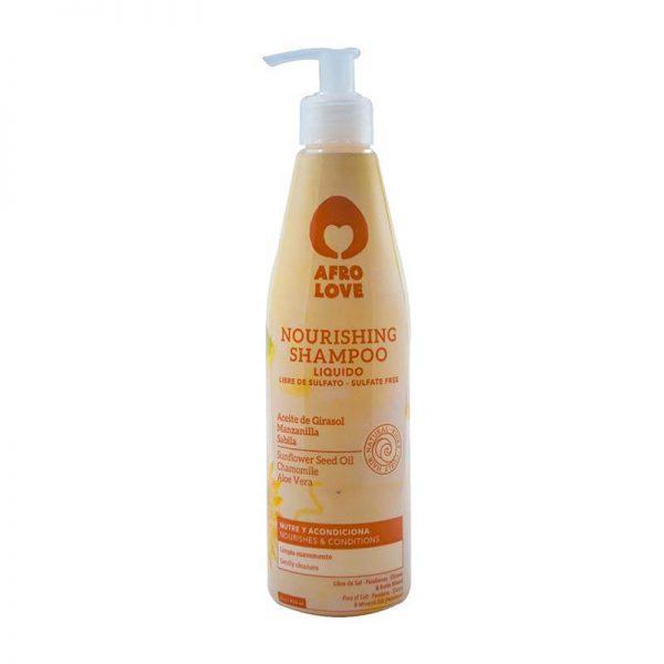 afro love nourishing shampoo