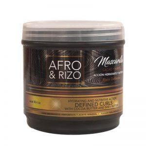 Afro & Rizo Mascarilla