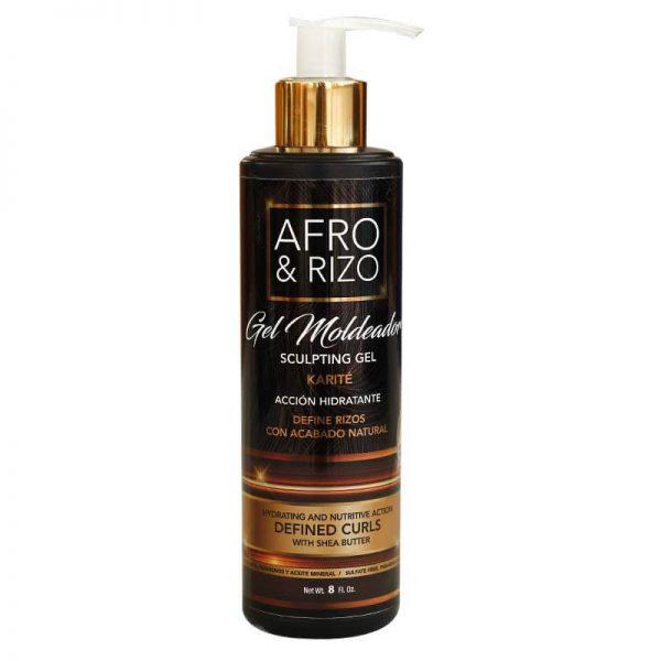 Afro & Rizo Gel Moldeador 8oz